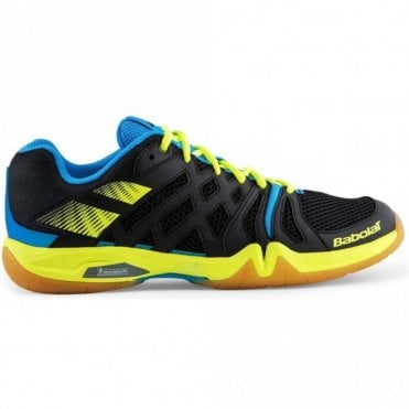 Shadow Team Mens Badminton Shoes 2017 Black/Yellow/Blue