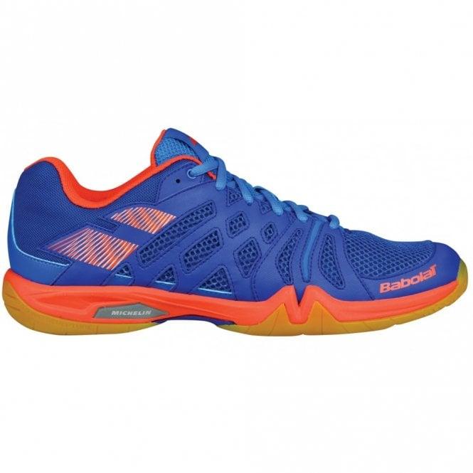 Babolat Shadow Team Mens Badminton Shoes 2018 Blue/Orange