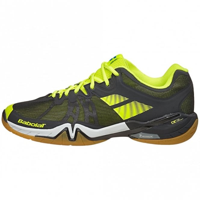Babolat Shadow Tour Mens Badminton Shoes 2016 Black/Yellow