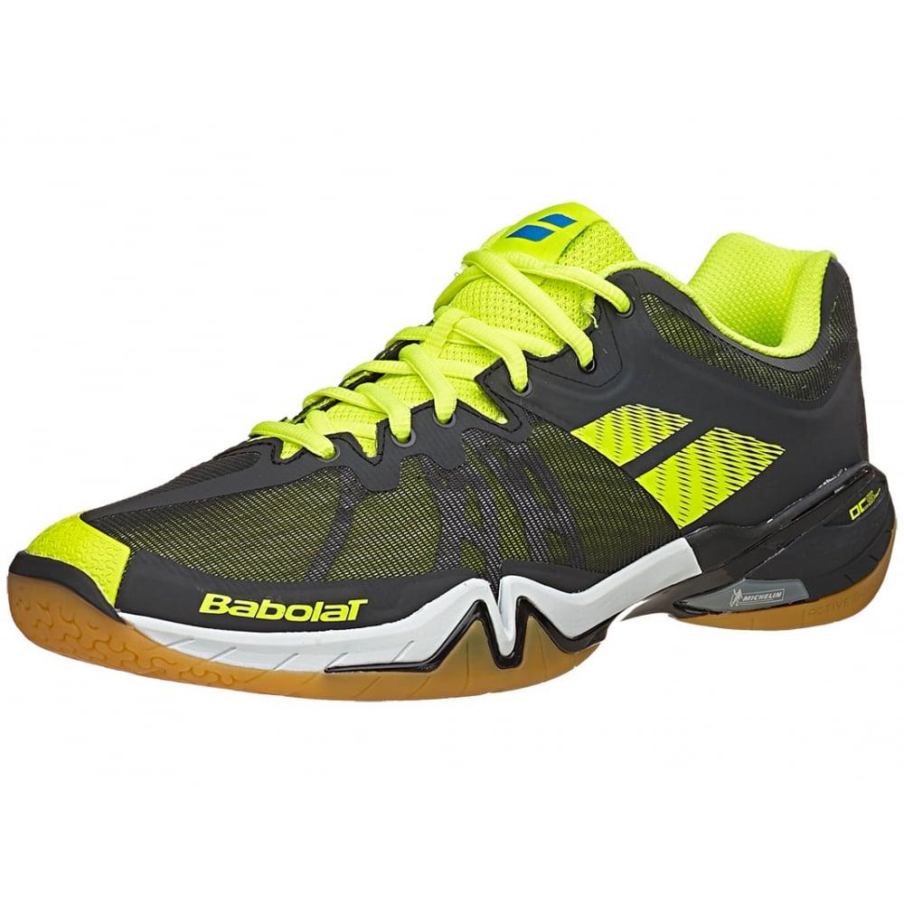 dcecbba23b9aa Shadow Tour Mens Badminton Shoes 2016 Black/Yellow