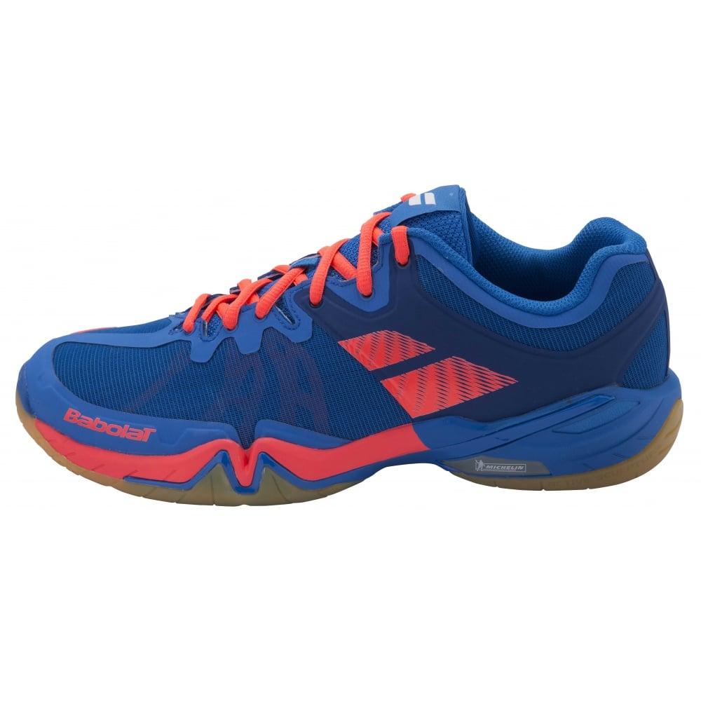e2809141ec29f Babolat Shadow Tour Mens Badminton Shoes 2016 Blue