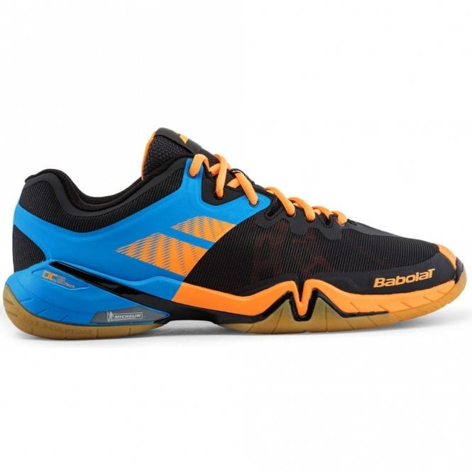 Babolat Shadow Tour Mens Badminton Shoes 2017 Black/Orange