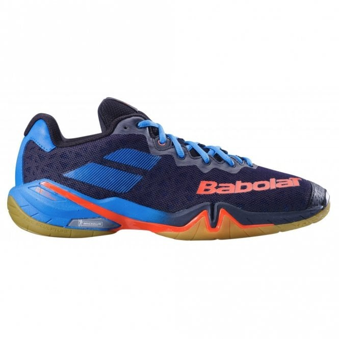 Babolat Shadow Tour Mens Badminton Shoes 2019 Blue/Orange