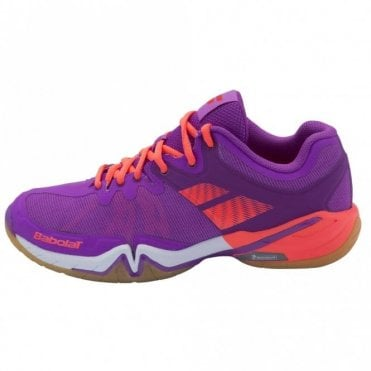 Shadow Tour Womens Badminton Shoes 2016 Purple
