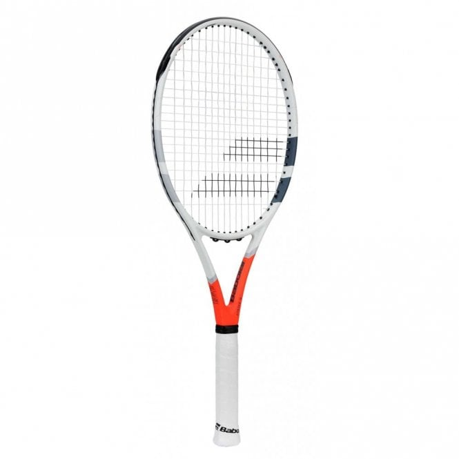 Babolat Strike G Tennis Racket 2019 White/Orange