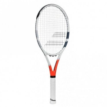 Strike G Tennis Racket 2019 White/Orange