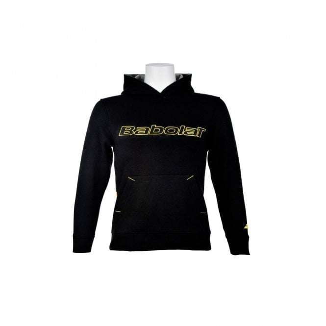 Babolat Sweat Unisex Adult Training Basic Hoody - Black