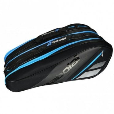 Team Line 12 Racket Bag 2019 Black/Blue