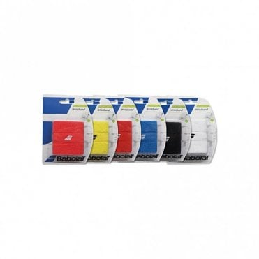 Wristband Sweatband Pair Assorted Colours