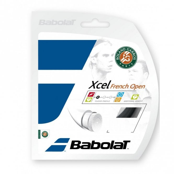 Babolat Xcel French Open Tennis String Set 1.25mm / 1.30mm / 1.35mm