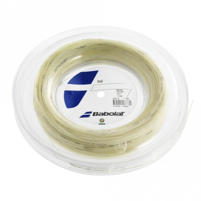 Babolat Xcel Tennis String 200m Reel 1.25mm / 1.30mm