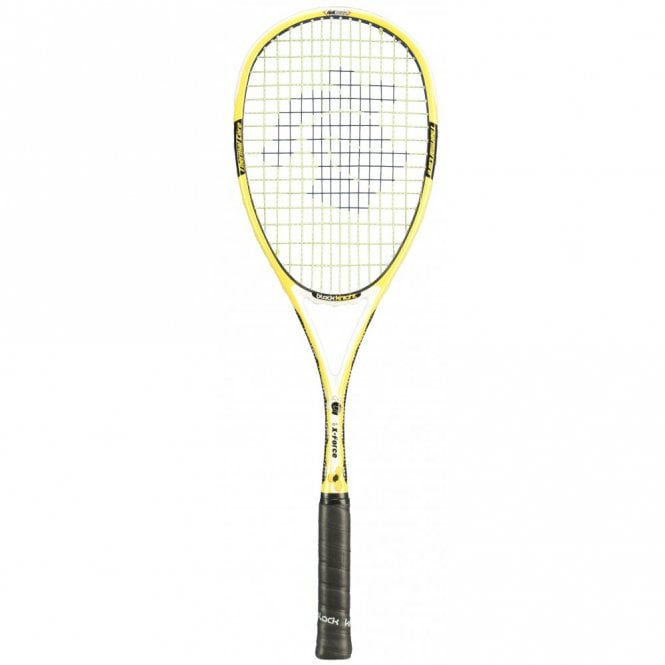Black Knight Ion X-Force Yellow Squash Racket