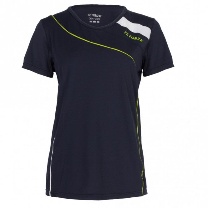 Alice Ladies Badminton T-Shirt Navy Blue