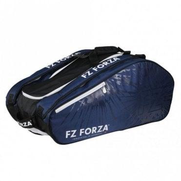 Blue Light 15 Racket Bag Badminton / Tennis / Squash White