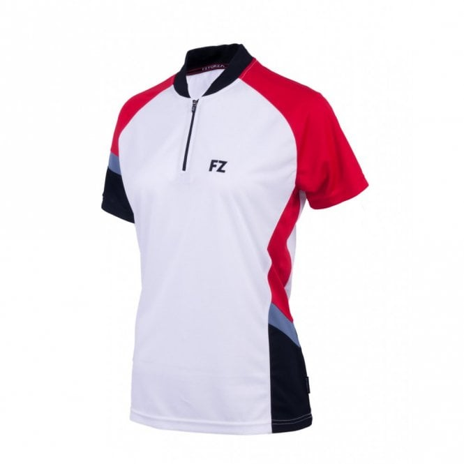 FZ Forza Chloe Ladies Tee Polo Shirt White