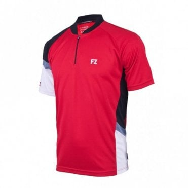 Claude Unisex Polo Shirt Red