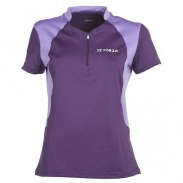 Dina Indigo Ladies Polo Shirt