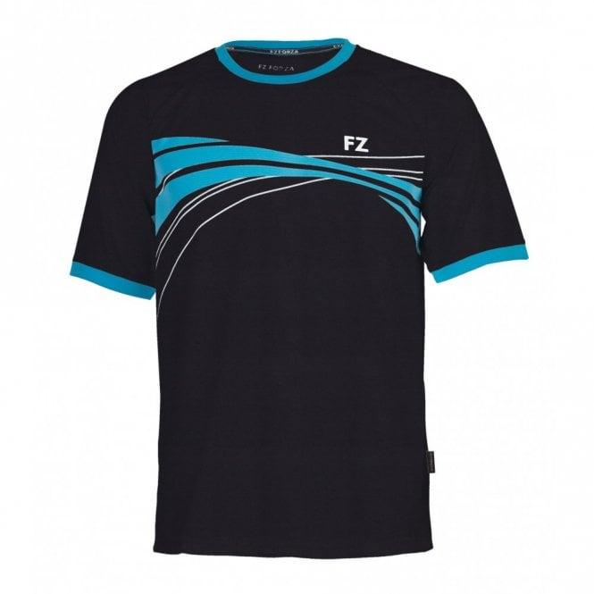 FZ Forza Eggert Unisex T-Shirt Black/Blue