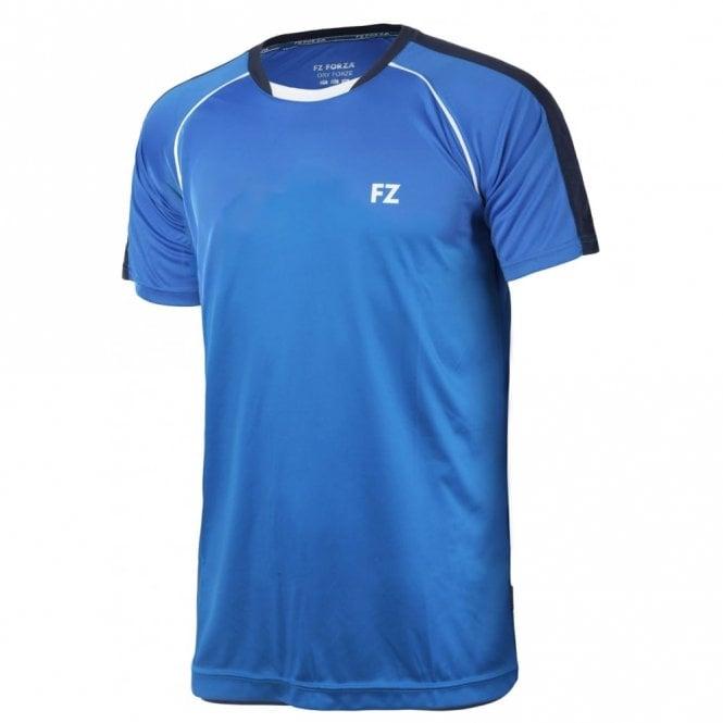 FZ Forza Gaba Mens Badminton T- Shirt Blue 2017