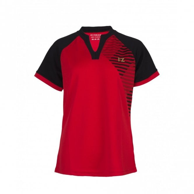 FZ Forza Grit Tee Chinese Red Tee Ladies Polo Shirt