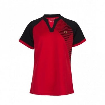 Grit Tee Chinese Red Tee Ladies Polo Shirt