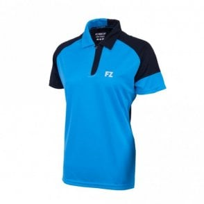 Heidi Ladies Polo Shirt Blue