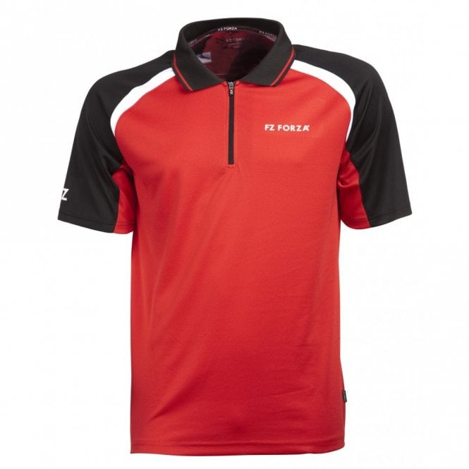 FZ Forza Kim Chinese Red Unisex Polo Shirt