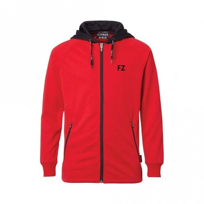 FZ Forza Lacey Ladies Jacket Tracksuit Top Red/Black
