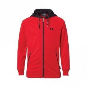Lacey Ladies Jacket Tracksuit Top Red/Black