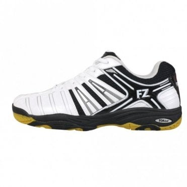 Leander Mens Badminton / Indoor Court Shoes Black