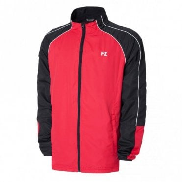 Liam Jacket Tracksuit Top Black/Red