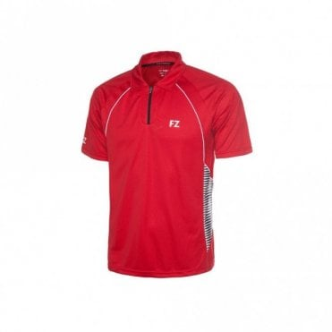 Lincoln Unisex Polo Shirt Red