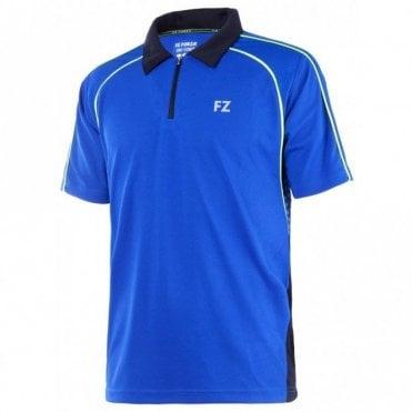 Max Unisex Polo Shirt Tee Blue 2016