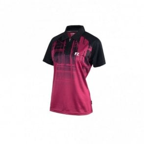 Rosa Ladies Polo Shirt Beet Red