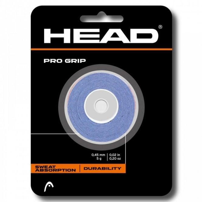 Head Pro Grip Overgrips 3 pack Racket Grips Blue