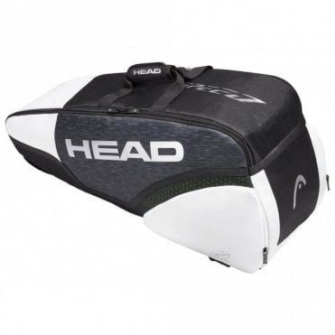 Speed Djokovic Combi 6 Racket Bag Black/White