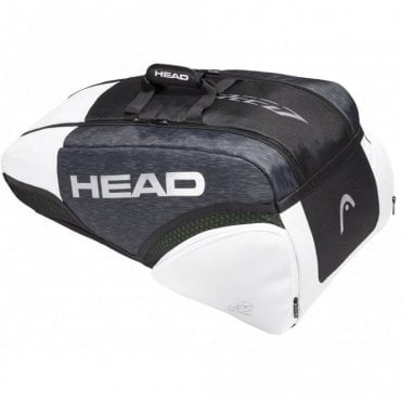 Speed Djokovic Supercombi 9 Racket Bag Black/White