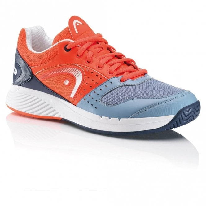 Head Sprint Team Mens Tennis Shoes Coral/Grey