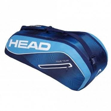 Tour Team Combi 6 Racket Bag 2019 Navy Blue (Instinct)
