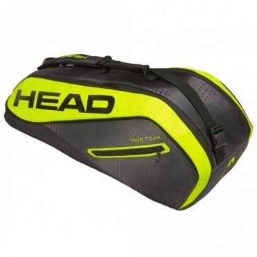 Tour Team Extreme Combi 6 Racket Bag 2019 Black/Yellow