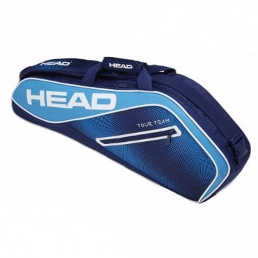 Tour Team Pro 3 Racket Bag 2019 Navy Blue (Instinct)