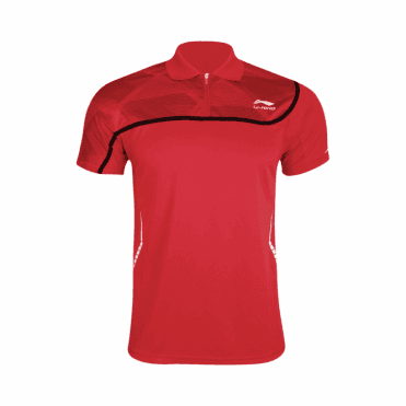 Mens Polo Shirt Red