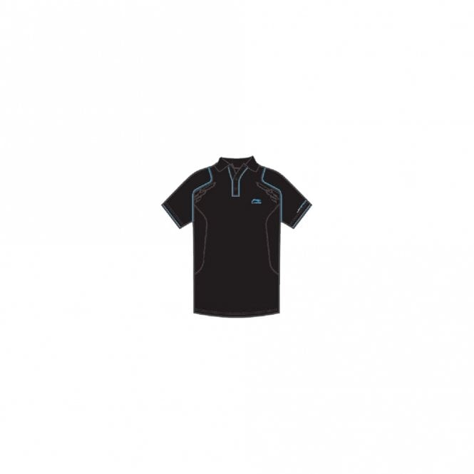 Li-Ning Mens Sports Polo Shirt Black