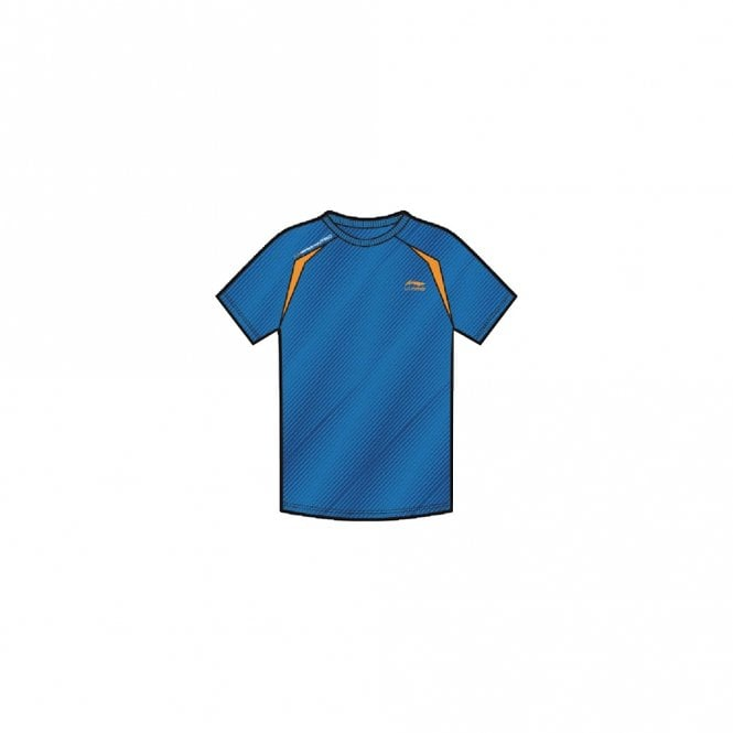 Li-Ning Mens Sports T-Shirt Blue