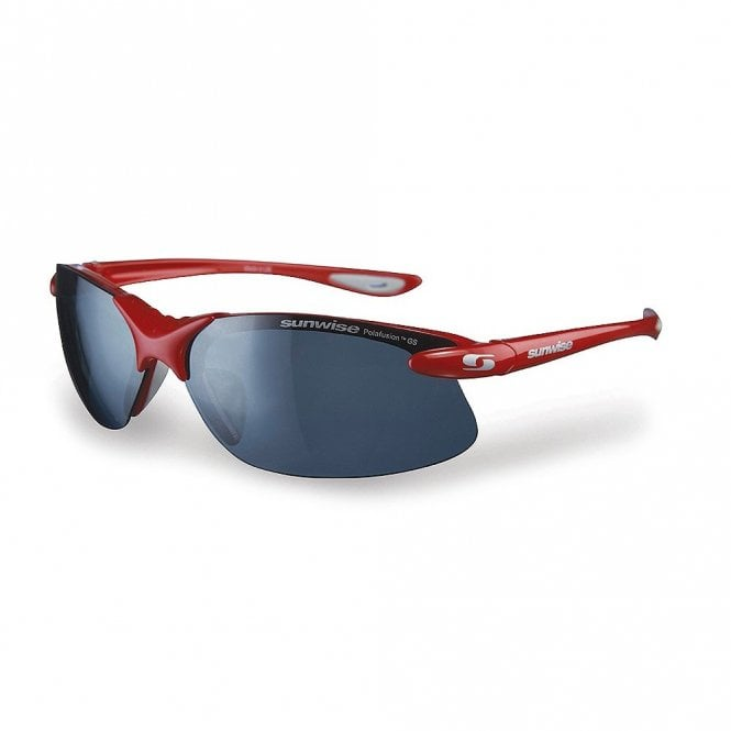 Sunwise Greenwich GS Red Polafusion Sunglasses