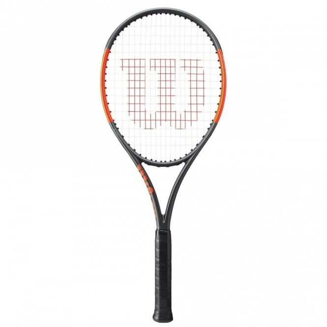 Wilson Burn 100 LS Tennis Racket 2018 Matte Black/Orange