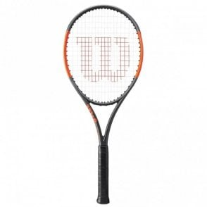 Burn 100 LS Tennis Racket 2018 Matte Black/Orange
