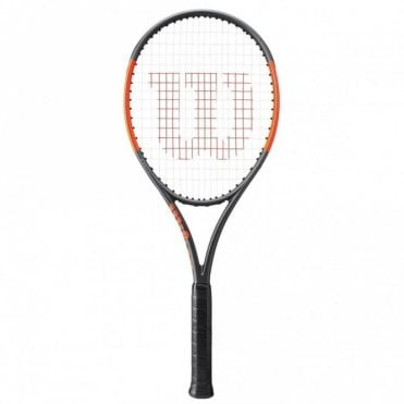 Burn 100 ULS Tennis Racket 2017 Matte Black/Orange