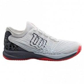 Wilson Kaos 2.0 SFT 2019 Mens Tennis Shoes White/Ebony/Coral