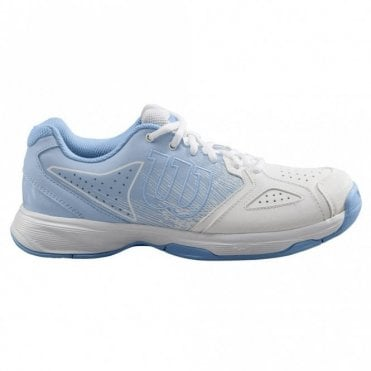 Kaos Stroke Womens All Court Tennis Shoes White/Blue 2019